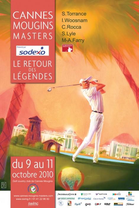 Affiche CannesMouginsMasters